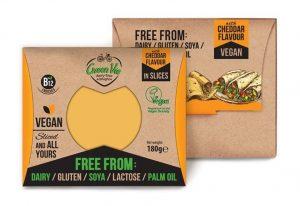 Green Vie Chedder Flavour Slices 180g