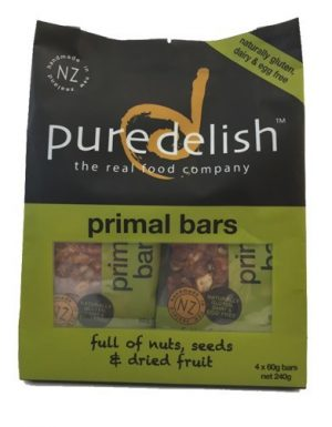 Pure Delish Primal Bars (4) 240g