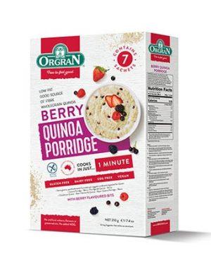 Orgran Berry Quinoa Porridge 210g