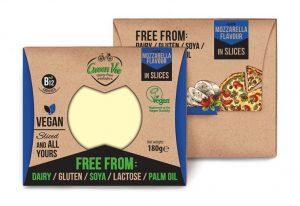 Green Vie Mozzarella Flavour Cheese Slices 180g