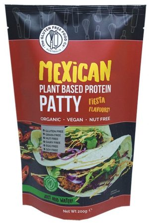Gluten Free Food Co. Plant Based Pattie - Mexican 200g