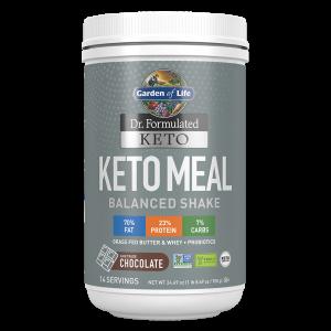 Garden of Life Keto Meal Balanced Shake - Chocolate 700g