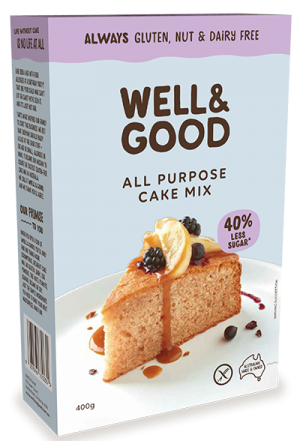 Well & Good All Purpose Cake Mix 400g