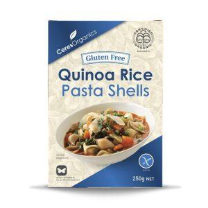 Ceres Organics Pasta Shells Quinoa 250g