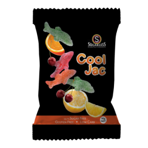 Sugarless Confectionery Cool Jac 90g