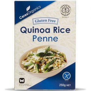 Ceres Organics Pasta Penne Quinoa 250g