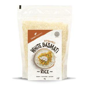 Ceres Organics Basmati White Rice 500g