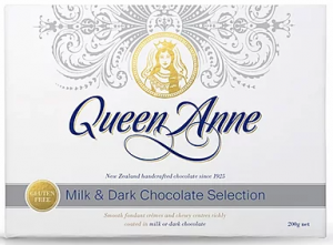 Queen Anne Milk & Dark Chocolate Selection 200g