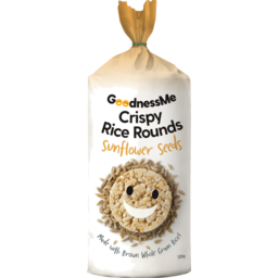 Goodness Me Rice Rounds - Sunflower Seeds 120g