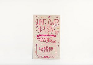 The Larder Project Sunflower & Raisin Bread Mix 360g