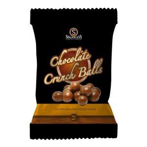 Sugarless Confectionery Chocolate Crunch Balls 90g