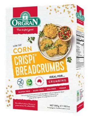 Orgran Corn Cripsy Breadcrumbs 300g