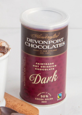 Devonport Chocolate Dark Drinking Chocolate 250g