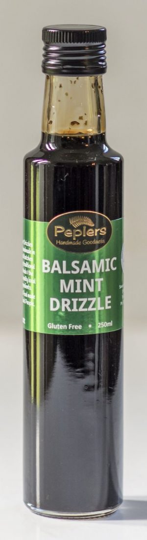 Peplers Balsamic Mint Drizzle 250ml