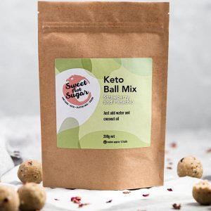 Sweet Not Sugar - Keto Ball Mix Strawberry and Pistachio 200g