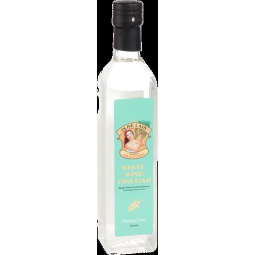 Olive Lady White Wine Vinegar 500ml