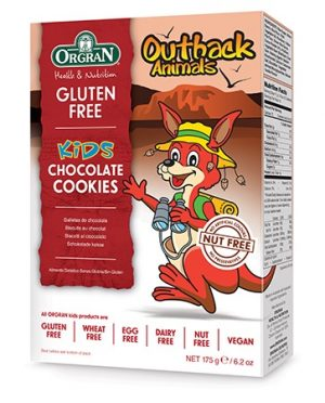 Orgran Outback Animals Kids Chocolate Cookies 175g