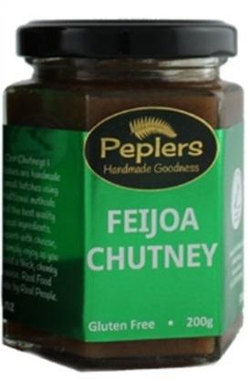 Peplers Feijoa Chutney 200g
