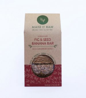 Make it Raw Fig & Seed Banana Bars 150g
