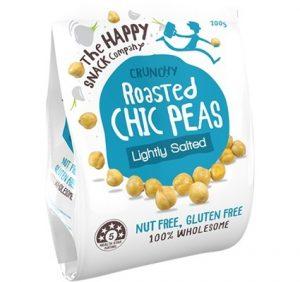 Happy Snack Roast Chick Peas Lightly Salted 200g