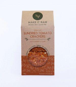 Make It Raw Sundried Tomato Crackers 100g