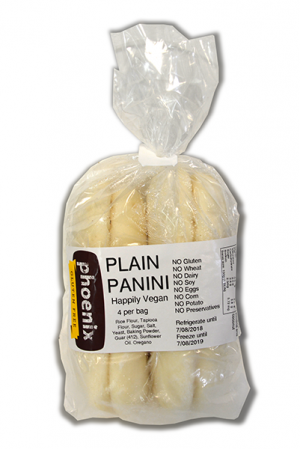 Phoenix Plain Panini (4) 600g FROZEN