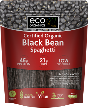 Eco Organics Black Bean Spaghetti 200g