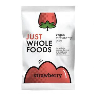 Just Whole Foods Vegan Jelly Crystals Strawberry 85g