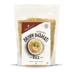 Ceres Organics Basmati Brown Rice 500g