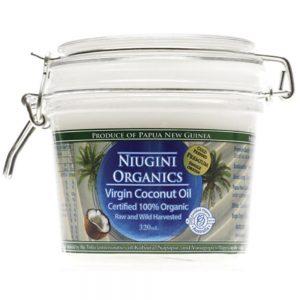 Niugini Raw 100% Organics Virgin Coconut Oil 320ml