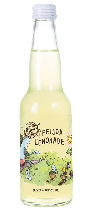 Petes Natural - Feijoa Lemonade 330ml
