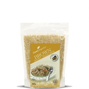 Ceres Organics Brown Short Grain Rice 500g