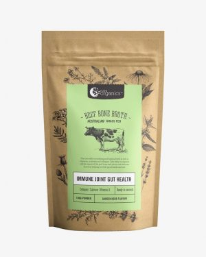 Nutra Organics Beef Bone Broth Garden Herb 100g