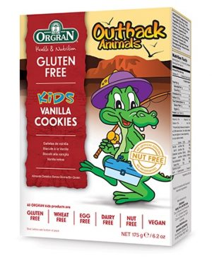 Orgran Outback Animals Kids Vanilla Cookies 175g
