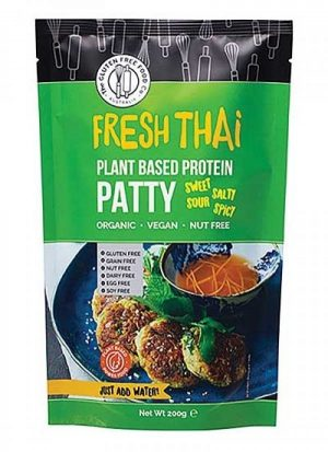 Gluten Free Food Co. Plant Based Pattie - Fresh Thai 200g