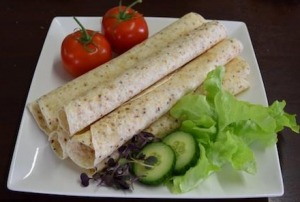"Cottage Lane Gluten Free 10.5"" White Wraps 250g FROZEN"