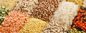Rice, grains & legumes