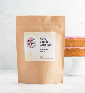 Sweet not Sugar Keto Vanilla Cake Mix 350g