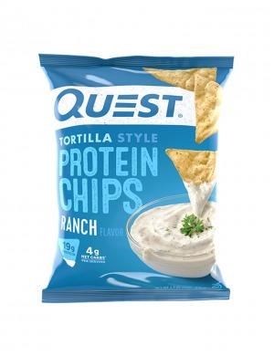 Quest Protein Tortilla Chips Ranch 32g