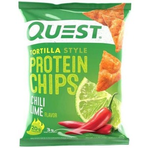 Quest Protein Tortilla Chips Chili & Lime 32g