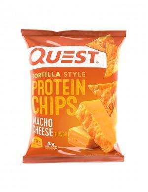 Quest Protein Tortilla Chips Nacho Cheese 32g