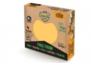 Green Vie Cheddar Flavour Block 250g