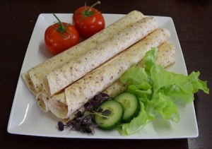 "Cottage Lane Gluten Free 10.5"" Hemp Wraps 250g FROZEN"
