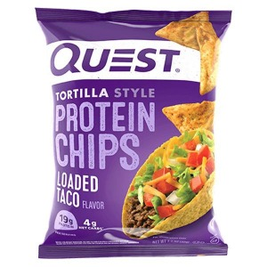 Quest Protein Tortilla Chips Loaded Taco 32g