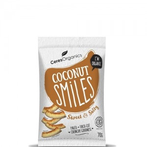 Ceres Organics Coconut Smiles Sweet & Salty 70g