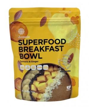 Jomeis Superfood Breakfast Bowl - Turmeric & Ginger 240g
