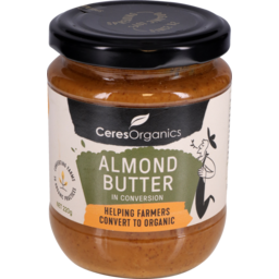 Ceres Organic Almond Butter (in conversion) 220g