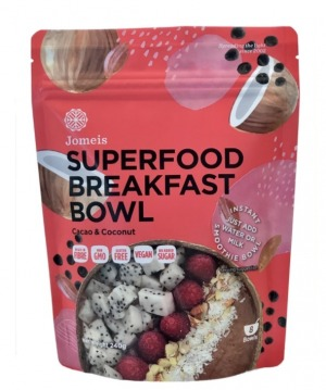 Jomeis Superfood Breakfast Bowl - Cacao & Coconut 240g