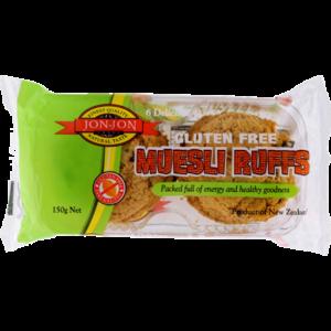 Jon-Jon Gluten Free Muesli Ruffs 150g