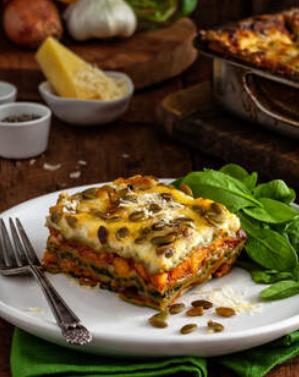 Pasta Vera Gluten Free Vegetable Lasagne 1.62kg FROZEN